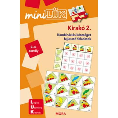 Kirakó 2. - Kombinációs készséget fejlesztő feladatok /MiniLÜK (LÜK)