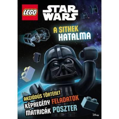 Lego Star Wars: A sithek hatalma /Akciódús történet, képregény feladatok, matricák, poszterek (Disney)