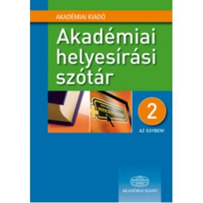 Akadémiai helyesírási szótár