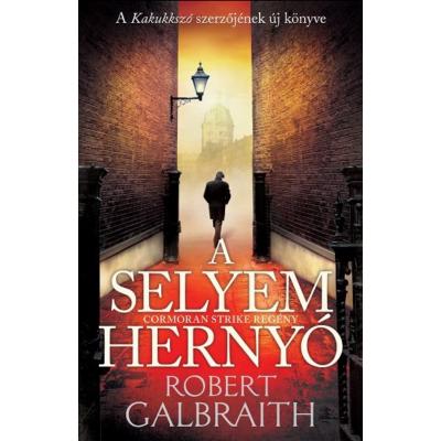 A selyemhernyó (régi borító) (Robert Galbraith (J. K. Rowling))