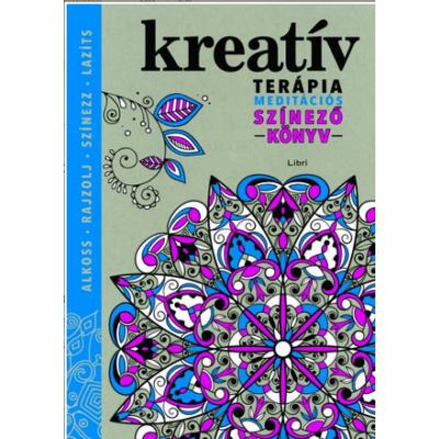 Kreatív terápia /Meditációs színező könyv (Hannah Davies)