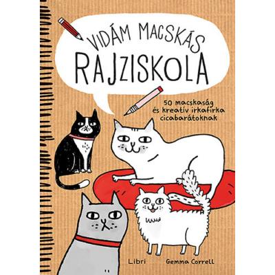 Gemma Correll: Vidám macskás rajziskola