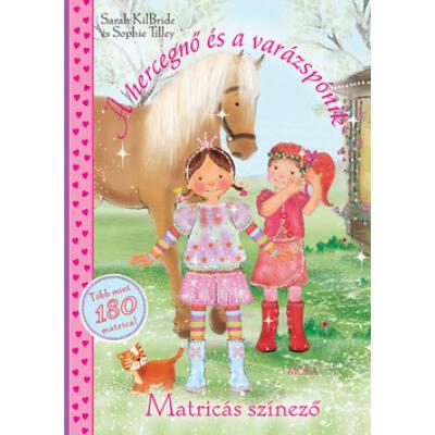 A hercegnő és a varázspónik - Matricás színező - Kifestő 509c331bff