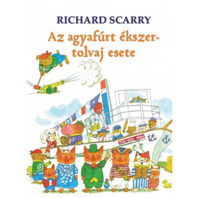 Richard Scarry: Az agyafúrt ékszertolvaj esete
