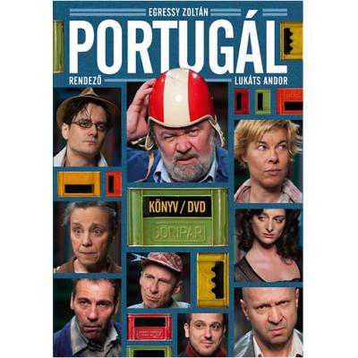 Portugál - Könyv + DVD (A Katona József Színház előadásának felvételével)